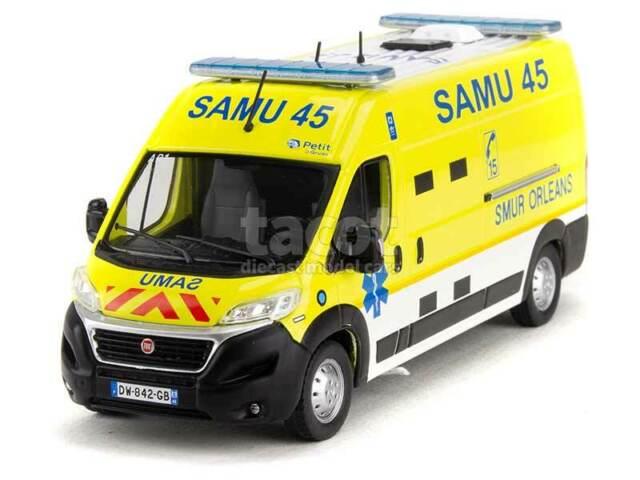 Fiat Ducato Ambulanza Samu 45 - odeon 1/43