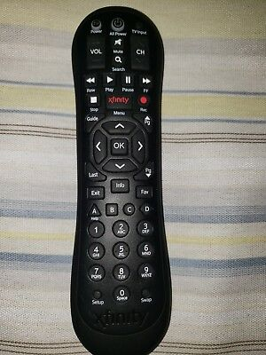 Original Comcast/Xfinity Remote Control XR2 Black for HDTV DVR Cable EUC |  eBay