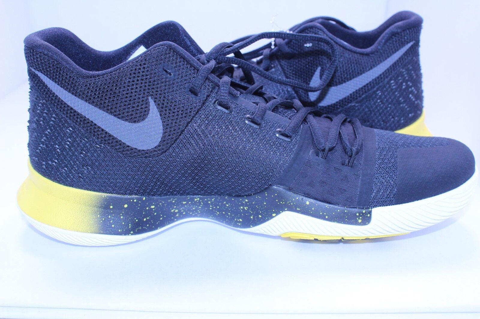 Nike Kyrie 3 Basketball shoes Mamba Black Yellow White SZ 11.5