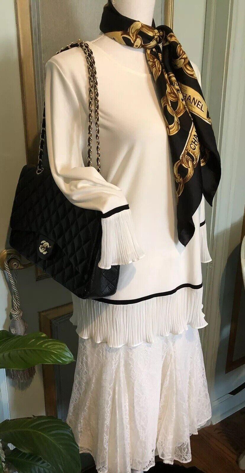 NWT Ralph Lauren Cream Lace Skirt Größe 14  198