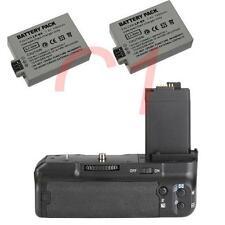 Battery Grip for Canon 450D 500D 1000D XS XSi T1i + 2 LP-E5 & IR Remote as BG-E5