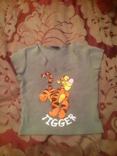 "New Look Disney Girls T-shirt Size 134-140 Cm ""Tigger"" VGC"
