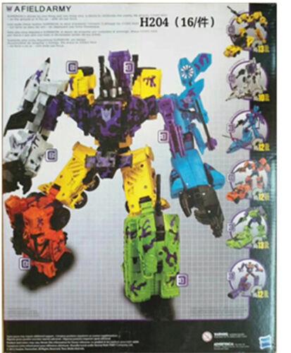 Transformers 6 in 1 Destroyer Bruticus Defensor Superion kids Toys Gift In Stock