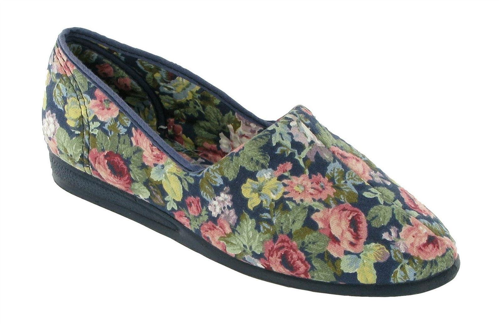 Mujer Lienzo Zapato  PLIMSOLL  Sin Cordones Cordones Cordones Casual PATRICIA Azul Marino    ventas en linea