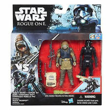 Star Wars Rogue One-Rebel Commando Pao y muerte Trooper 2pk-Nuevo en la acción