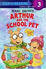 Step into Reading: Arthur and the School Pet by Marc Brown (2003, Paperback)