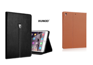 Genuine Soft Leather XY Smart Case Stand Magnetic Cover for Apple iPad Air