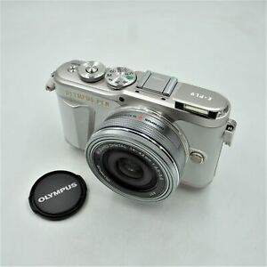 Olympus Pen E Pl9 Kit W 14 42mm Ez Lens Camera Bag Memory Card Pearl White Ebay