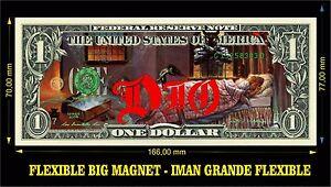 DIO-EVIL-IMAN-BILLETE-1-DOLLAR-BILL-MAGNET-RAINBOW