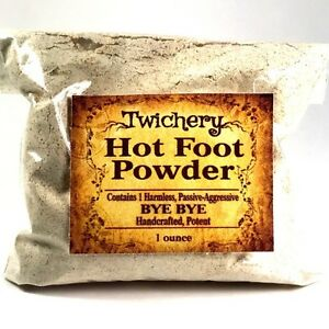 HOT-FOOT-POWDER-Hoodoo-Wicca-Pagan-Banish-Get-Rid-of-People-Go-Away-Powder