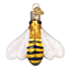 thumbnail 1 - Old-World-Christmas-HONEY-BEE-12520-N-Glass-Ornament-w-OWC-Box