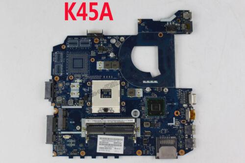 For ASUS K45A Motherboard K45VD A45V K45VM K45VS A85V QCL40 LA-8221P Mainboard