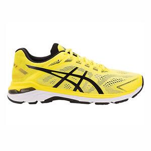 Asics-GT-2000-7-1011A158-750-Men-Running-Shoes-Lemon-Spark-Black
