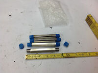 (4) Swagelok Ss-4-hln-4.50  X 1/4 Male Npt Ss Hex Long Nipple Pipe Fitting