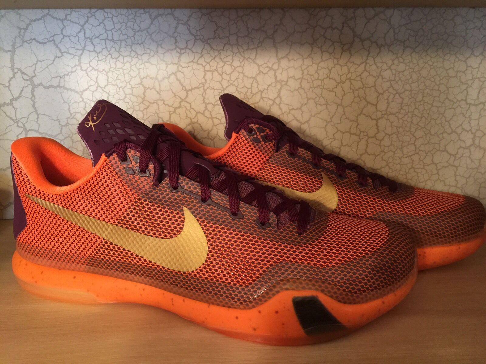 DS NEW Nike Kobe X silk road 10 IX 9 V IV 1 prelude 705317 676 elite FTB Sz 14