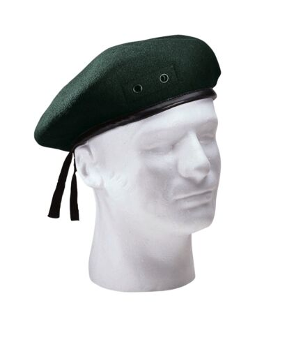 G.I Style Military Green Wool Beret 4908 Rothco