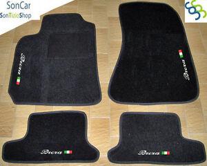 4decori+4block ALFA ROMEO BRERA TAPPETI AUTO SU MISURA