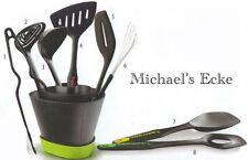 Tupperware Griffbereit Set (8 Küchenhelfer + Griff-Fix)