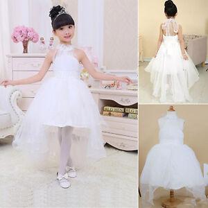Girl Communion Party Dress Prom Princess Pageant Bridesmaid Wedding Formal Dress