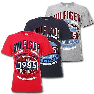 TOMMY HILFIGER DENIM FELIX CN TEE Herren Jeans T Shirt | eBay