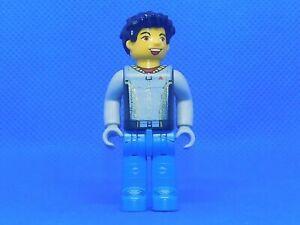 LEGO Jack Stone Juniors Minifigures vintage Jack Stone Orange Jacket