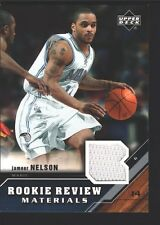 JAMEER NELSON 2005-06 UPPER DECK ROOKIE REVIEW JERSEY PATCH SP MAGIC $12