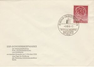 Germany-Berlin-ERP-Europa-topic-FDC-unaddressed-top-quality-cat-140-euro