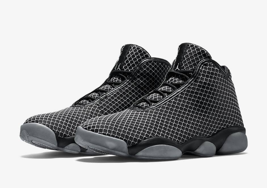 Nike Jordan Uomo Horizon Basketball Shoes Nero / Grey New in box