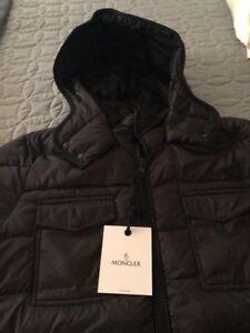 Image is loading Womens-Brand-New-Moncler-Edward-Jacket-Black-size-
