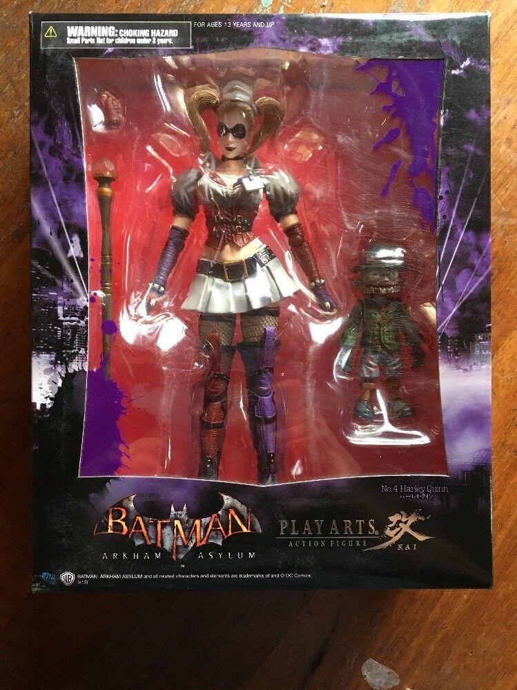 muchas sorpresas Square Enix BA un Arkham Asylum  Jugar Arts Kai Kai Kai  Harley Quinn Figura De Acción  venta con descuento