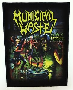 MUNICIPAL-WASTE-BACKPATCH-SPEED-THRASH-BLACK-DEATH-METAL