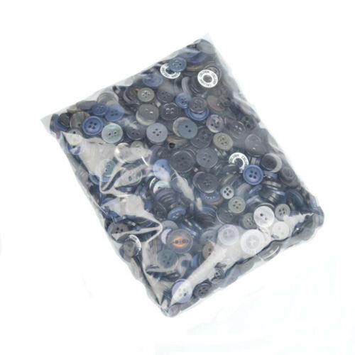 50Pcs Round Resin Buttons for Sewing Scrapbook Clothing DIY Crafts Decor 7-15mm
