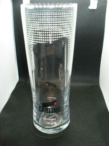 Carling Cider Pint Glass Ce Stamped Pub Shed Bar Man Cave