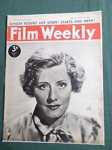 FILM-WEEKLY-UK-MOVIE-MAGAZINE-6-MAY-1939-GINGER-ROGERS-CLIVE-BROOK