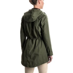 Nwt Authentic Womens Filson Field Parka Waxed Cotton Olive