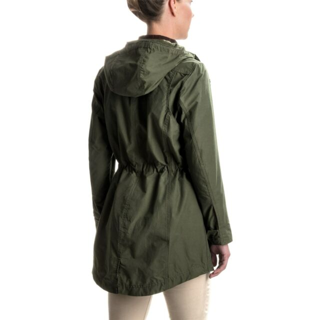 06d82b8a8e7b9 NWT Authentic Womens Filson Field Parka Waxed Cotton Olive Jacket Sizes M &  L