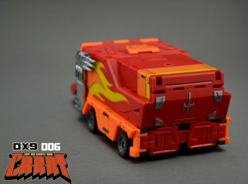 New DX9 toys Transformers D06 Carry Hot Rod Hot Rodimus Figure MISB In Stock