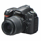 Nikon D D80 10.2MP Digital SLR Camera - Black (Kit w/ 18-55mm Lens)