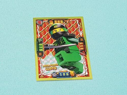 Mega Power Lloyd Lego® Ninjago™ Serie 4  Trading Card Limitierte Auflage LE3