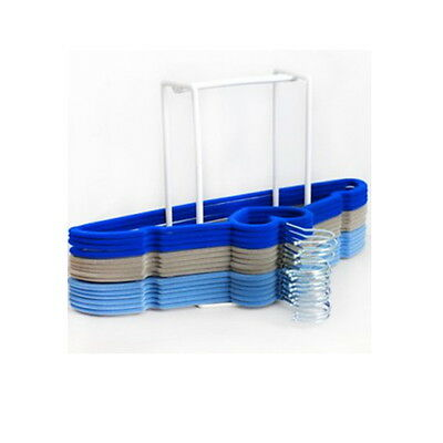 Clothes Hanger Holder Storage Organiser Caddy Rack