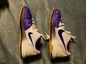 the latest 06080 ec85a Image is loading Nike-KD-8-QS-846230-100-White-Purple-