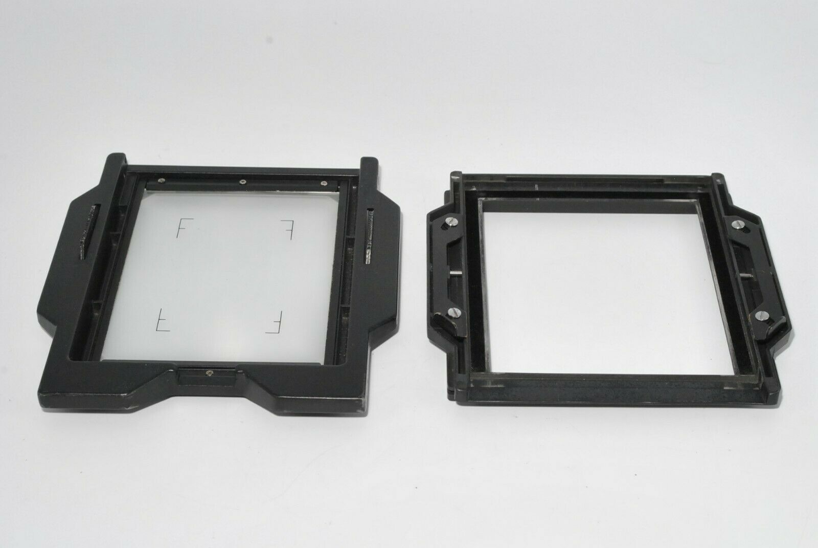 Horseman 4x5 back adapter w/ Glass for Large Format Sinar from Japan