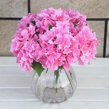 1Pcs Artificial Silk Flower Bridal Pink Hydrangea Home Wedding Garden Decor