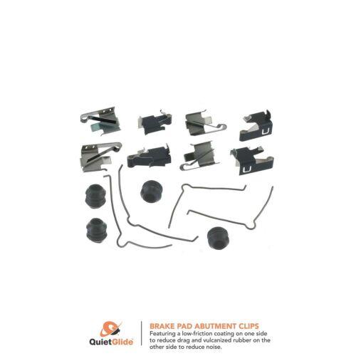 Front Carlson H5660Q Disc Brake Hardware Kit