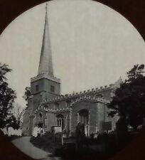 St. Mary's, Harrow on the Hill, London, England, Magic Lantern Glass Slide