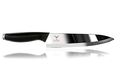 SUZARU Professional Chef's Ceramic Kitchen Knife Set