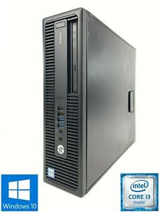 HP ProDesk 600 G2 SFF - 500GB HDD, Intel Core i3-6100, 8GB RAM - Win 10 Pro