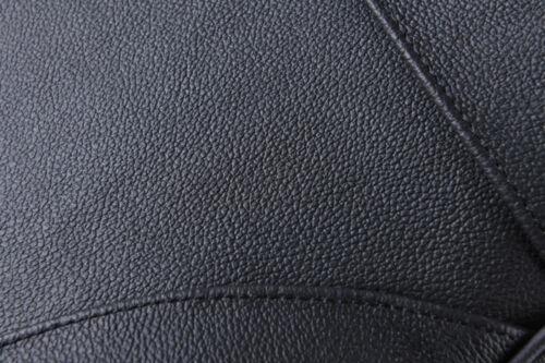 1 Pc Schwarz Echtleder Autositz Nackenkissen Auto Kopfstütze Für Mercedes-Benz
