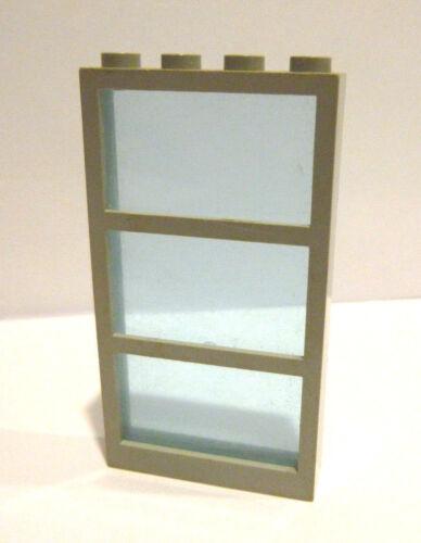 1 x LEGO® 57894//6160 City Fenster in hellgrau,Einsatz hellblau wie auf dem Foto.