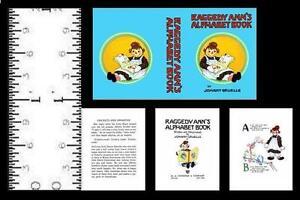 1:24 SCALE MINIATURE BOOK RAGGEDY ANN STORIES MODIFIED